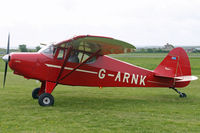 G-ARNK @ EGBP - At the Great Vintage Flying Weekend. Privately owned. - by Howard J Curtis