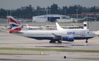 G-CIVC @ MIA - British Airways One World 747-400