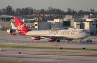 G-VROC @ MIA - Virgin Atlantic Mustang Sally 747-400