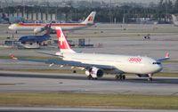HB-JHG @ MIA - Swiss A330