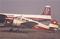OO-TIN @ EBOS - 1943 Cessna UC-78 - by Raymond De Clercq