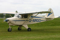 G-ARGO @ EGBP - At the Great Vintage Flying Weekend. Privately owned. - by Howard J Curtis