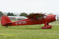 G-BTDE @ EGBP - At the Great Vintage Flying Weekend. Privately owned. - by Howard J Curtis