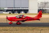 D-ERTC @ EDDR - Evektor EV-97 Sportstar RTC - by Jerzy Maciaszek