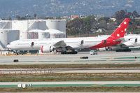 VH-VPF @ KLAX - Virgin Australia Boeing 777-3ZGER, at LAX. - by Mark Kalfas