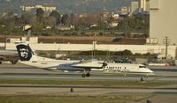 N404QX @ KLAX - Taxiing to gate