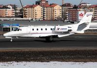 D-CAIR @ BMA - Departing runway 30. - by Anders Nilsson