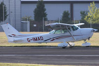 G-IMAD @ EGHH - Privately owned. - by Howard J Curtis