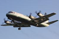 G-FIZU @ EGHH - Atlantic Airlines. Landing at sundown - lovely! - by Howard J Curtis