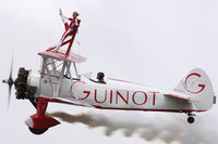 N54922 @ EGVA - At RIAT 2009. Team Guinot. - by Howard J Curtis