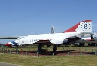 66-0289 - McDonnell Douglas F-4E Phantom II (a REAL Thunderbird) at the Castle Air Museum, Atwater CA - by Ingo Warnecke