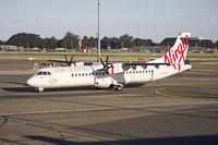 VH-FVU @ YSSY - Skywest Airlines Virgin Australia livery (VH-FVU) ATR 72-212A at Sydney Airport. - by YSWG-photography