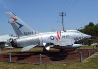53-1709 - North American F-100C Super Sabre (displayed as F-100D 55-2879) at the Castle Air Museum, Atwater CA - by Ingo Warnecke