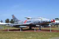 53-1709 - North American F-100C Super Sabre (displayed as F-100D 55-2879) at the Castle Air Museum, Atwater CA