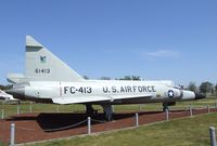 56-1413 - Convair F-102A Delta Dagger at the Castle Air Museum, Atwater CA