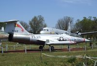 57-1314 - Lockheed F-104D Starfighter at the Castle Air Museum, Atwater CA
