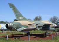 57-5837 - Republic F-105B Thunderchief at the Castle Air Museum, Atwater CA - by Ingo Warnecke