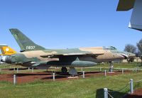 57-5837 - Republic F-105B Thunderchief at the Castle Air Museum, Atwater CA