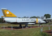 58-0793 - Convair F-106A (reconverted from QF-106A) Delta Dart (displayed as 57-2456) at the Castle Air Museum, Atwater CA