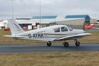 G-ATRR @ EGNH - 1966 Piper PA-28-140 Cherokee, c/n: 28-21892 at Blackpool