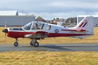 G-DAWG @ EGNH - G-DAWG (XX552/06), 1973 Scottish Aviation Bulldog T.1, c/n: BH.120/208 at Blackpool