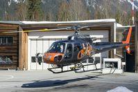 F-HESB - departure from Chamonix heliport - by Joop de Groot