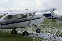 G-CCTW @ EGHA - Compton Abbas in the snow. A resident here, G-CCTW, already minus an engine. - by Howard J Curtis