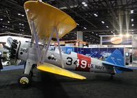 N2JS - Stearman at the NBAA Conference Orlando Orange County Convention Center
