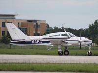 N4PJ @ ORL - Cessna 310Q - by Florida Metal