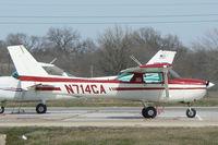 N714CA @ DTO - At the Denton Municipal Airport