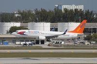C-GTVG @ KFLL - Boeing 737-800 - by Mark Pasqualino