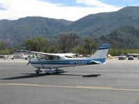 N7133G @ SZP - 1969 Cessna 172K, Lycoming O-320-E2D 150 Hp, taxi - by Doug Robertson