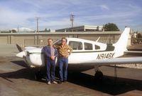 N9146K @ EMT - CFI and myself after a training flight. - by Eric Schreiner