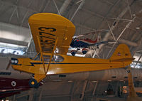N35773 @ KIAD - This Piper Cub was the first aircraft to be put on display at the Udvar-Hazy Center.  The NASM on the Mall has a Piper J-2 Cub. - by Daniel L. Berek