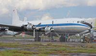 N70BF @ OPF - DC-6A - by Florida Metal