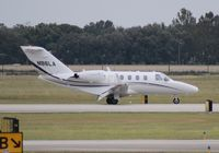 N86LA @ ORL - Cessna 525 with aftermarket winglets