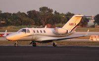 N86LA @ ORL - Cessna 525 with aftermarket winglets for NBAA