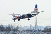 SP-FDS @ EGBB - Exin Air's Antonov An-26B, c/n: 12205 landing at Birmingham
