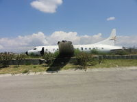 UNKNOWN @ MTPP - An old aircraft at the Port-au-Pince International Airport - by Jonas Laurince