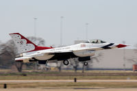 UNKNOWN @ AFW - USAF Thunderbird departing Alliance Airport - Fort Worth, TX