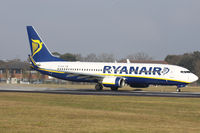 EI-DCW @ EGHH - Ryanair - by Howard J Curtis
