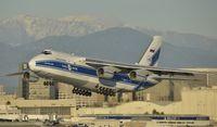 RA-82045 @ KLAX - Departing LAX