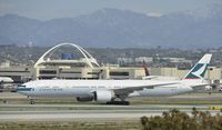 B-KPE @ KLAX - Taxiing to gate at LAX - by Todd Royer