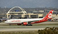 D-ALPJ @ KLAX - Taxiing to gate at LAX