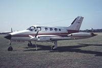 F-BRSH @ EBGT - Cessna 414 - by Raymond De Clercq