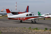 G-CEJV @ EGHH - Operated by Bournemouth Flying Club. - by Howard J Curtis