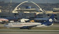 XA-ZAM @ KLAX - Taxiing to gate at LAX - by Todd Royer