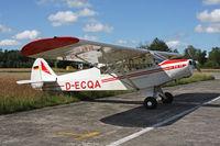 D-ECQA @ EBUL - Parked at Vliegclub Ursel. - by Stefan De Sutter