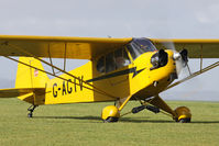 G-AGIV @ EGHA - Privately owned. - by Howard J Curtis
