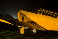 KF488 @ EGHH - Bournemouth Aviation Museum night photo shoot. Close up of the nose, named 'Billie'. - by Howard J Curtis